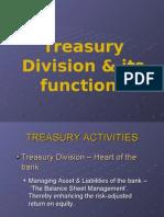 Muhammad Ali Bhojani Report on Treasury Division & its functions