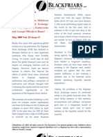 Capital Markets Newsletter May2009