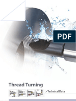 Thread Turning Tech Data