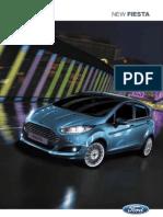 New Fiesta 2013 Brochure