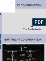IDMT Coordination Example