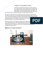 Small Grinding and Polishing Machine