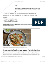 Five Best Fish Recipes