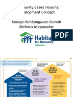 Community Based Housing Development Concept