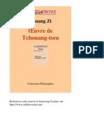 Zhuang Zi - Le Livre de Tschouang-Tseu [