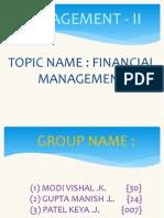 Management - II