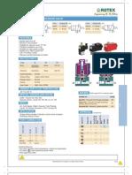 solenoid operated valve data sheet