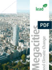 Mega Cities and Climate Change (LEAD)