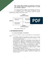 Rubio g, 1998, Paradigmas de Investigacion en Educacion Especial