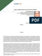 Rodriguez e 2005, Estadistica y Psicologia - Analisis Historico de La Inferencia Estadistica