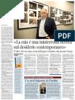 Intervista a Walter Siti - Corriere Della Sera 03.08.2013