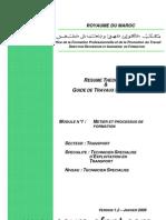 M01 Metier Et Processus de Formation TRA-TSET Www.cours-Ofppt.com