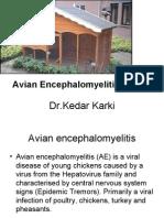 Avian Encephalomyelitis (AE)