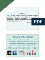 Clase Cap 3.2 Equilibrio Q - Le Chatelier Calculos