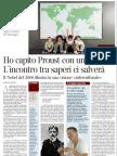 L'intelligenza fra le culture è la vera ragion d'essere del linguaggio, di Jean-Marie Gustave Le Clézio - Corriere della Sera 03.08.2013