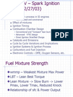 Spark Ignition Engine Ppt