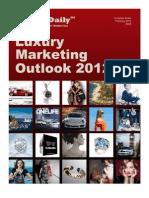 Luxury Marketing Outlook 2012