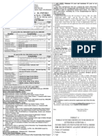 Western Railways - Recruitment Under Sports Quota