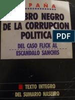 el libro negro de la corrupción politica