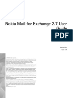 Nokia Mail for Exchange 2.7 user guide, English
