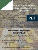 Bab 7.2 Perubahan Pentadbiran Dasar Desentralisasi
