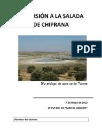 Excursion a La Salada de Chiprana