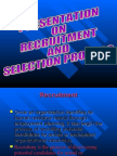Presentation-Recruitment and Selection Process