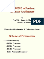 4 Intel 286 to Pentium Architecture