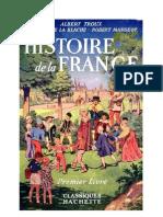 Histoire de La France CE1 Troux-Vidal de La Blache-Mangeot Classiques Hachette