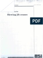 Slew Jib Crane Standards