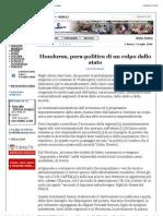 Granma.cu - Honduras, Para-politica Di Un Colpo Dallo Stato