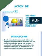 Integracion de Personal Exposicion Actualizda
