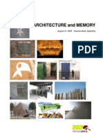 Architecture and Memory