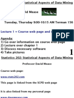 Lecture1=Course Web Page and Chapter 1