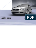 2012 Volvo S80 Owners Manual