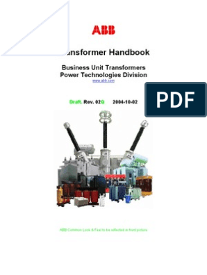 ABB Transformer Handbook ( Business Unit Transformers Power ... on