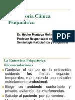 1.La Historia Clínica Psiquiatrica II