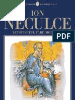 Neculce Ion - Letopisetul Tarii Moldovei (Tabel Crono)