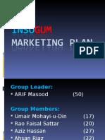InsoGUM Marketing Plan ppt