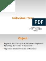 Individual Tray