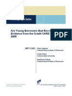 Are Young Borrowers Bad Borrowers? Evidence from the Credit CARD Act of 2009