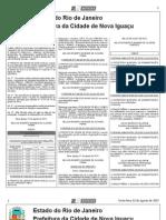 diario oficial de nova iguaçu de 02 de agosto de 2013.