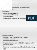 Impaction Classification