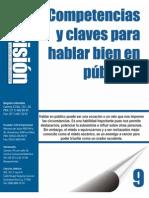 09.Competencias y Claves Para Hablar en Publico