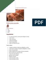 Rollo Piizza Picante