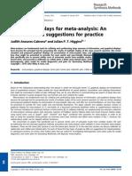 Graphical Displays for Meta-Analysis
