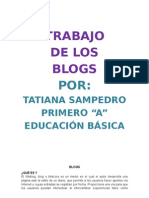 blogs por tatiana sampedro