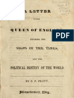 Letter to the Queen of England, by Parley P Pratt