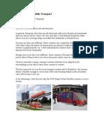 RUF Dual Mode Public Transport
