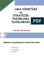 MP Bölüm 12 - Pazarlama yonetimi ve stratejik pazarlama